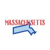 Journal Card Massachusetts 4x6