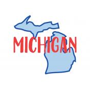 Journal Card Michigan 4x6