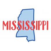 Journal Card Mississippi 4x6