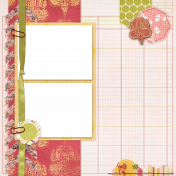 Quick Pages Kit #11 Spring Fields- 03