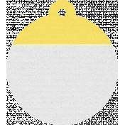 England Tag Yellow
