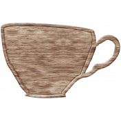England Wood Teacup 2