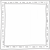 Doodle Frame 06 4x4