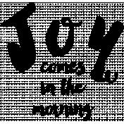 Joy Morning