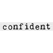 Confidence Word Snippet Confident