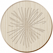 Presence Wood Coin