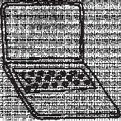Work Day Computer Illustration