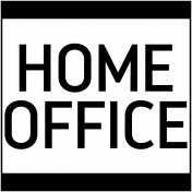 Work Day Word Art- Home Office