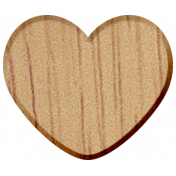 Work Day Wood Heart1