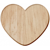 Work Day Wood Heart2