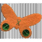 Felt Butterfly 1