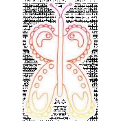 Bugs Sticker Butterfly 01