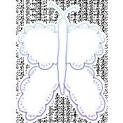 Bugs Sticker Butterfly 03