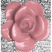 Vienna Plastic Flower- Pink