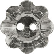 Vienna Plastic Flower- Gray