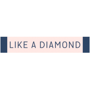 Diamonds Element Label Diamond