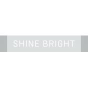 Diamonds Element Label Shine Bright
