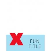 Journal Card Template 002 3x4