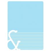 Journal Card Template 005 3x4