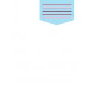 Journal Card Template 008 3x4