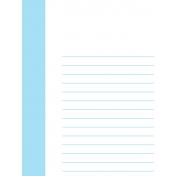 Journal Card Template 014 3x4