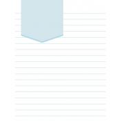 Journal Card Template 019 3x4