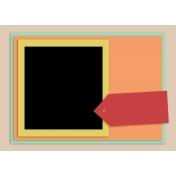 card template 5x7 Set 003a
