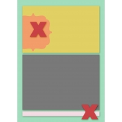 card template 5x7 Set 003e