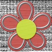 Fine Print Flower 3