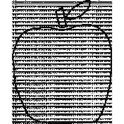 Thankful Illustration Apple Template