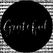 Word Spot Grateful Template