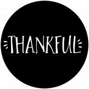 Word Spot Thankful Template