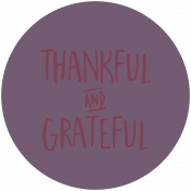 Thankful Harvest Word Circle Thankful Grateful