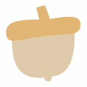 Thankful Harvest Sticker Acorn 1