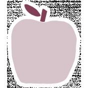 Thankful Harvest Sticker Apple 1