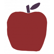 Thankful Harvest Sticker Apple 2