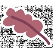 Thankful Harvest Sticker Leaf 4