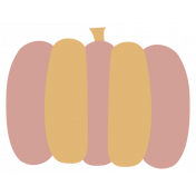 Thankful Harvest Sticker Pumpkin 2