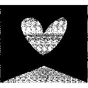 Heart Banner 03 Template