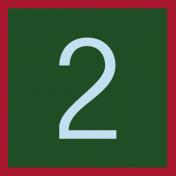 Christmas Number Tag 2