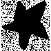 Christmas Day Star Stamp