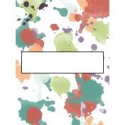 Crafty Evening Journal Card 03 3x4