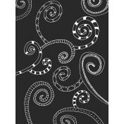Crafty Evening Tangle Journal Card 04 3x4