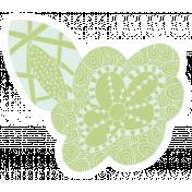 Crafty Element Sticker Tangle Flower 1