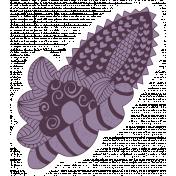 Crafty Element Sticker Tangle Flower 3