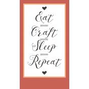 Crafty Element Tag Craft