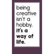 Crafty Element Tag Creative