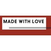 Crafty Element Tag Love
