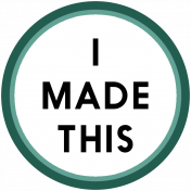 Crafty Element Tag Made This