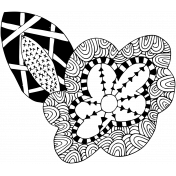 Crafty Element Tangle Flower 1